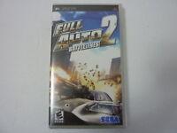 NEW - Full Auto 2 Battlelines (Sony PSP, Playstation Portable) - SEALED