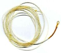 Wonderfurl Precision Crystal Ivory Tapered Furled Fly Fishing Leader - Choices