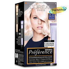 Loreal Preference 11.21 Ultra Light VERY VERY LIGHT PEARL BLONDE Hair Colour Dye