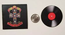 Miniature record album Barbie Gi Joe 1/6  Playscale Guns n Roses Appetite
