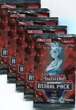 5 X YU-GI-OH ASTRAL PACK VOL.3 PROMOTIONAL FACTORY SEALED AP03