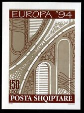 Albania 2454, MNH, European inventors Sketch of road project. x6882