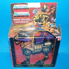 VINTAGE DE 1984 80 Mattel Motu De He-man (Heman) Night Stalker Caballo En Caja Raro