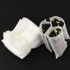 100pcs/Pack Garden Supplies Russia In Sale Hot Fabrics 8*10cm Bags Raising