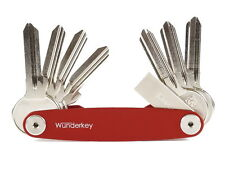 Llavero de aluminio y acero inoxidable Wunderkey 2/8 organizador llaves