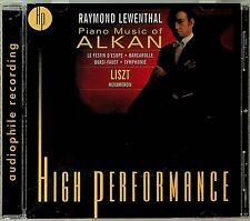 Raymond Lewenthal - Alkan Piano Works/Liszt Hexameron AUDIOPHILE Weiss HP RM CD