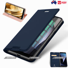 Magnetic PU Leather Wallet Card Holder Knock TPU Case Cover GOOGLE Pixel 3 XL 3
