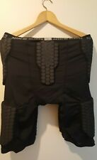 New Nike Mens 3Xl Shorts Pro Combat Hyperstrong 5 Pad Football Black