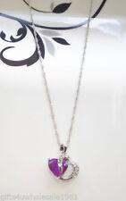 Heart Alloy CZ Costume Necklaces & Pendants