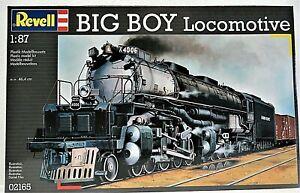 Revell BIG BOY LOCOMOTIVE plastic model kit 1:87 New 02165