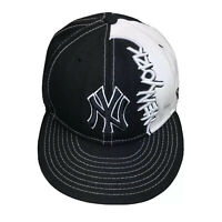 New York Yankees New Era 59Fifty Graffiti MLB Baseball Fitted Cap Hat Sz 7 1/4