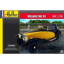 DELAGE D8 SS HELLER 1/24 PLASTIC KIT