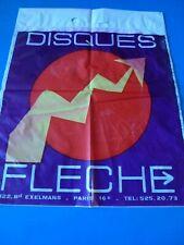 CLAUDE FRANCOIS SAC DISQUES FLECHE