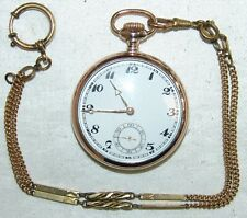 Alte Herren - Taschenuhr Junghans Silber 800 mit Kette