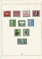 germany 1958 mint stamps page ref 17727