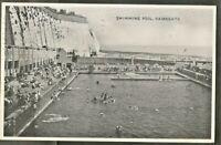 SLF 1936 Postcard, Swimming Pool, Ramsgate, Kent