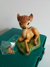 "WDCC 2004 DISNEY MEMBERSHIP CLUB 1234176 BAMBI ""THE YOUNG PRINCE"" BOX COA"