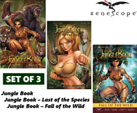 GRAPHIC NOVEL SET: GRIMM FAIRY TALES JUNGLE BOOK VOLUME #1 - 3