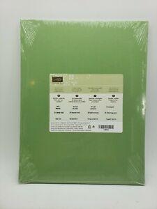 WILD WASSABI Cardstock 8.5 X 11 Stampin Up Paper #108641 NEW