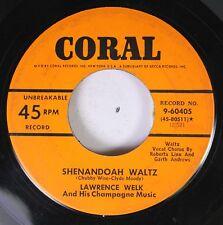 50'S Coral Nos 45 Lawrence Welk - Shenadoah Waltz / Metro Polka On Coral