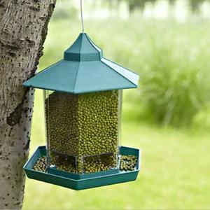 Bird Feeders Seed Suet Nut Bird Bath Seed Tray Large Plastic Feeder UK STOCK