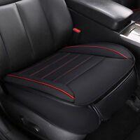 Universal Auto PU Leder 3D Sitzauflage Sitzbezüge Kissen Sitzmatte Cover Schwarz