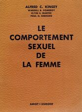 1954 the famous kinsey report on female sexuality sexual behaviour