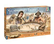 Italeri 6196 1/72 Historic Diorama Model Kit Roman Gladiatorial Fight Battle Set