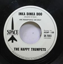 Jazz Promo 45 The Happy Trumpets - Inka Dinka Doo / Happiness Is On Space Record