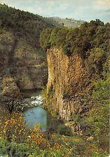 BR11110 Vivarais les coulees basaltiques de Jaujac dominant la Vallee  France