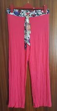 TED BAKER B BY TED PINK BUTTERFLY WAIST PRINT PYJAMA PANTS SIZE 12 NEW £24
