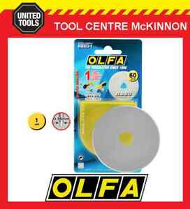 GENUINE OLFA RB60-1 60mm ROTARY CUTTER REPLACEMENT BLADE – MADE IN JAPAN