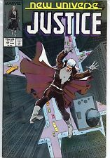 Marvel Comics Justice #17 March 1988 New Universe VF