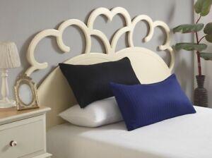 Mako Satin Kissenhüllen Kissenbezug Baumwolle 40x80cm Kissen Damast 1 cm