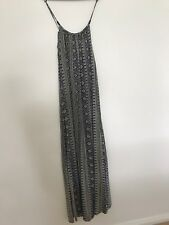 Boho Festival Maxi Long Dress extra small size 8 Beach Casual Outfit