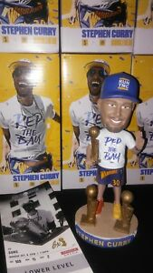 🎄🏆🏆🏆Golden State Warriors Stephen Curry Bobblehead Oracle Arena