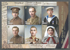 Jersey-The Great War part V 2018-military-World War I min sheet mnh