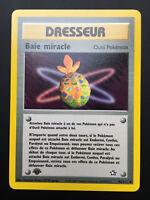 Carte Pokemon BAIE MIRACLE 94/111 Néo Génésis Wizard Français NEUF EDITION 1