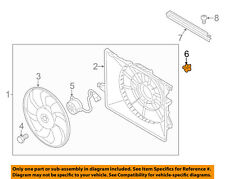 KIA OEM 14-15 Sorento 3.3L-V6 Engine Cooling Fan-Resistor 25385B8800