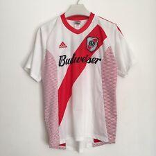River Plate Football Shirt Large Budweiser Adidas