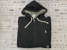 Polo Ralph Lauren Hoodie schwarz Größe XL Langarm Fleece Sweatshirt Bnwt Rrp £ 100