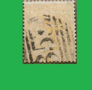 1864 British Africa: Mauritius stamp Age157 Years old Hinge Remaining Scott's#39