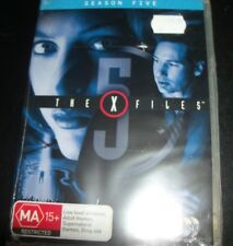 The X-Files X Files SEason Five 5 (Australia Region 4) DVD – New (Still Sealed)