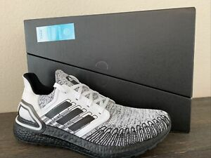 """adidas Ultraboost 20 """"Oreo"""" Black White FY9036 Running Shoes Men's Size 11 NEW"""