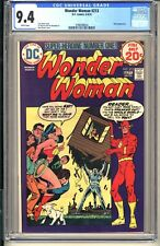 WONDER WOMAN #213  CGC 9.4 WP NM  DC Comics 1974  Flash appearance Bronze Age