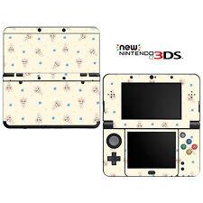 Vinyl Skin Decal Cover for Nintendo New 3DS - Girl's Kitty Doll Pattern