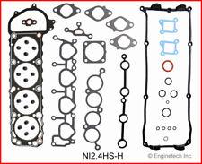Engine Cylinder Head Gasket Set ENGINETECH, INC. fits 1995 Nissan 240SX 2.4L-L4