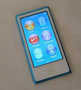 Apple nano Multitouch 7th Generation (A1446, 16 GB) Blue