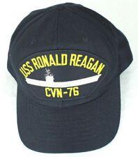 ce3c09d4c Eagle Crest Mens USS Ronald Reagan CVN-76 Snap Back Ball Cap