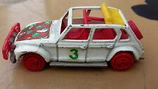 Citroën 2cv rallye décapotable majorette